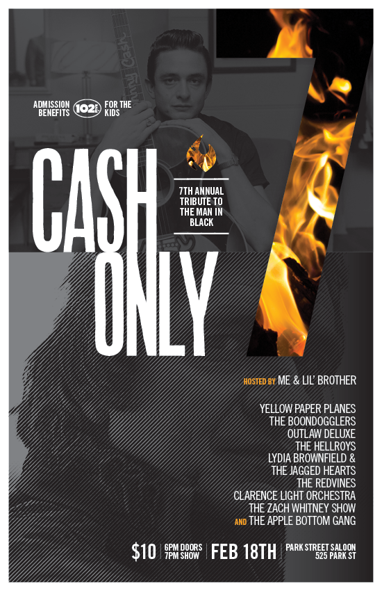 CASH ONLY 7 POSTER