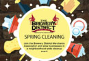 CD102.5 Green Team at The Brewery District Merchants Association Spring Cleaning