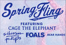 Spring Fling feat. Cage The Elephant, Silversun Pickups, Foals, and Bear Hands