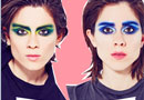 Tegan and Sara in the CD102.5 Big Room