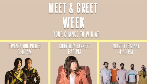 Meet & Greet Week