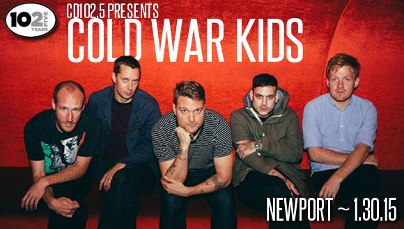 Cold War Kids Events