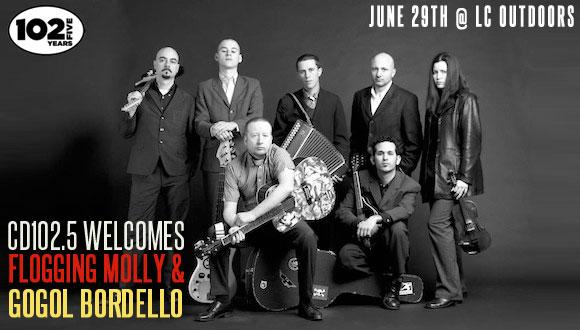Flogging Molly/Gogol Bordlelo