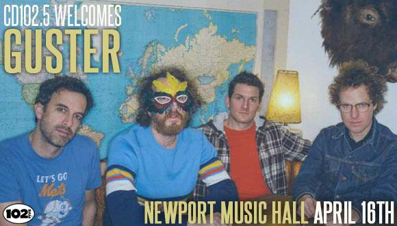 CD102.5 Welcomes Guster