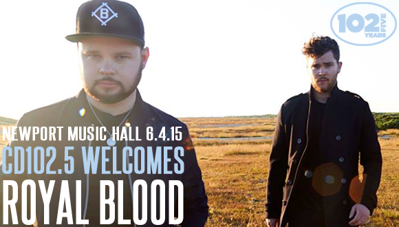 CD102.5 Welcomes Royal Blood