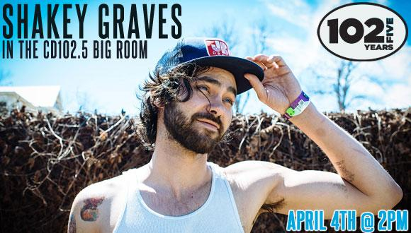Shakey Graves Big Room Page