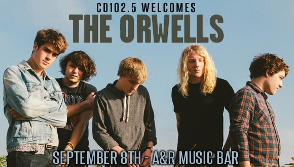 The Orwells Front