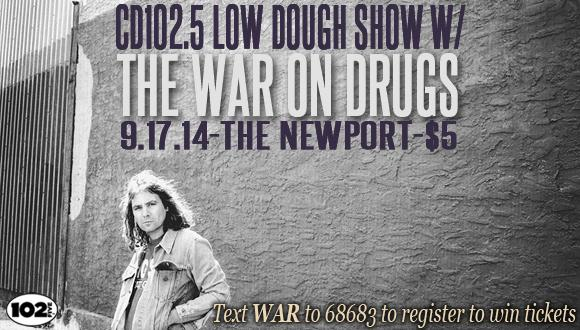 The War On Drugs Low Dough Events