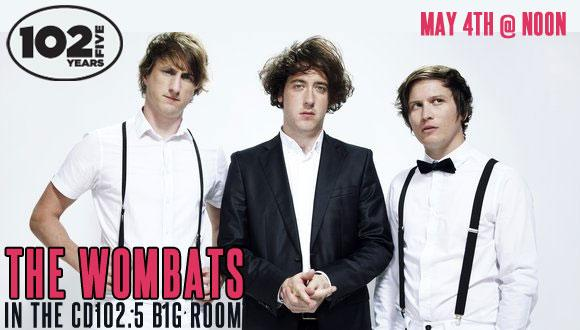 The Wombats Big Room Page