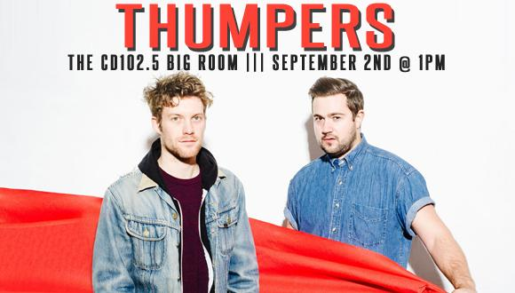 Thumpers Big Room front