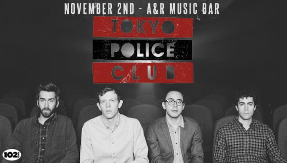 Tokyo Police Club Front