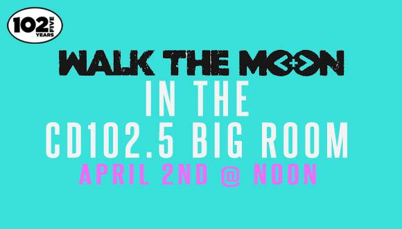 Walk the moon big room